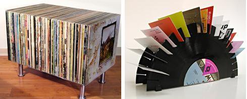 Nuovi riusi per vecchi dischi - Mobile porta dischi vinile ...
